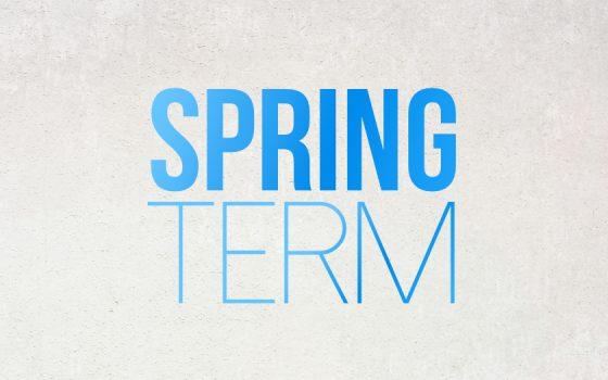 Spring Term Dates 2020